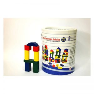 713 – Barrel 100 Col Wooden Blocks