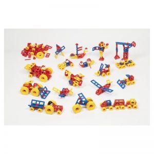 726 – Kindergarten 120 Pc Group Set, Including Wheels