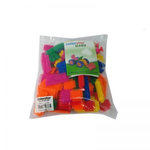 786 – Interstar Stik-a-Blocks 100pce In Bag