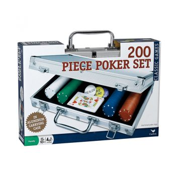996 – DeLuxe Poker Set (Aluminium Case With 200 Standard Dual-tone Chips)