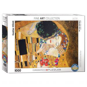 173 – 1000pce Puzzles 6000-0142 The Kiss Detail