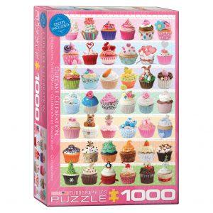 173 – 1000pce Puzzles 6000-0586 Cupcake Celebration