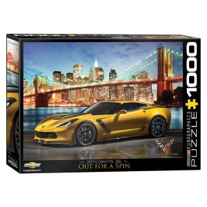 173 – 1000pce Puzzles 6000-0735 Corvette Out For A Spin