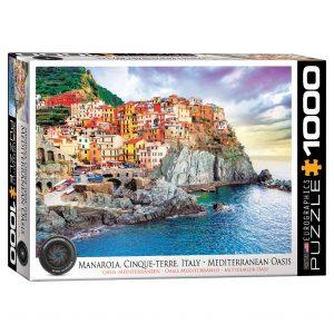 173 – 1000pce Puzzles 6000-0786 Manorola Italy