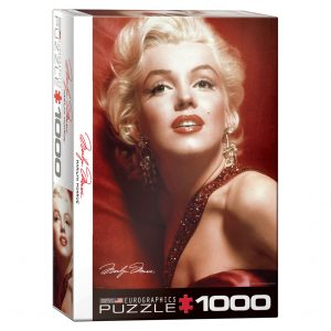 173 – 1000pce Puzzles 6000-0812 Marilyn Monroe Red Portrait