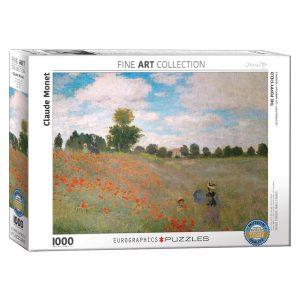 173 – 1000pce Puzzles 6000-0826 Poppy Fields