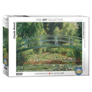 173 – 1000pce Puzzles 6000-0827 The Japanese Foot Bridge