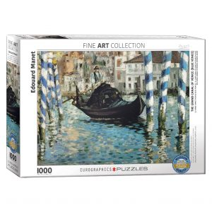 173 – 1000pce Puzzles 6000-0828 The Grand Canal Of Venice
