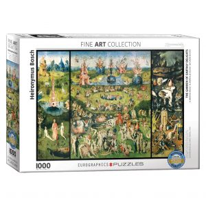 173 – 1000pce Puzzles 6000-0830 The Garden Of Earthly Delights