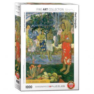 173 – 1000pce Puzzles 6000-0835 La Orana Maria
