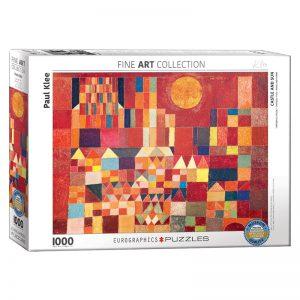 173 – 1000pce Puzzles 6000-0836 Castle & Sun