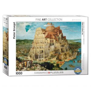 173 – 1000pce Puzzles 6000-0837 The Tower Of Babel