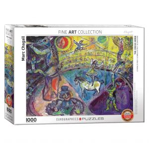 173 – 1000pce Puzzles 6000-0851 The Circus Horse