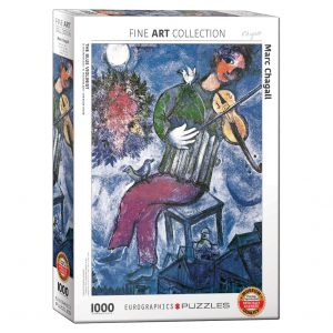173 – 1000pce Puzzles 6000-0852 The Blue Violinist