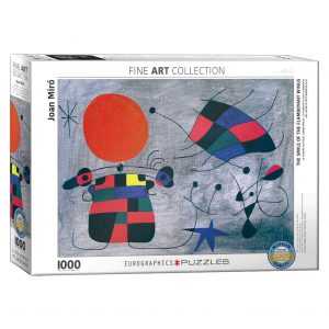 173 – 1000pce Puzzles 6000-0856 The Smile Of The Flamboyant Wings