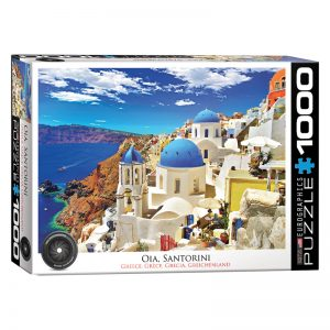 173 – 1000pce Puzzles 6000-0944 Santorini Greece