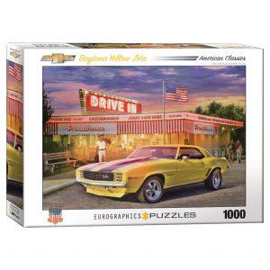 173 – 1000pce Puzzles 6000-0986 Daytona Yellow Zeta