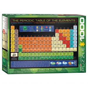 173 – 1000pce Puzzles 6000-1001 Periodic Table Of Elements
