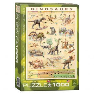 173 – 1000pce Puzzles 6000-1005 Dinosaurs