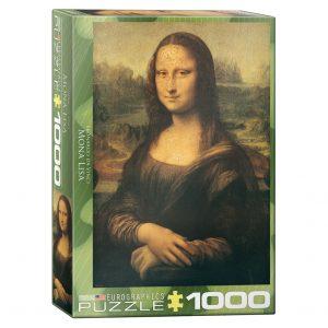 173 – 1000pce Puzzles 6000-1203 Mona Lisa