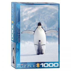 173 – 1000pce Puzzles 6000-1246 Penguin & Chick