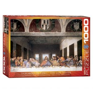 173 – 1000pce Puzzles 6000-1320 The Last Supper