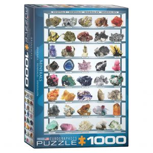 173 – 1000pce Puzzles 6000-2008 Minerals Of The World