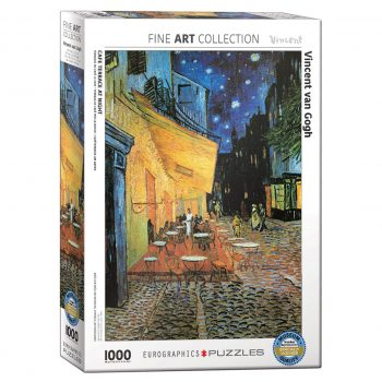 173 – 1000pce Puzzles 6000-2143 Cafe At Night