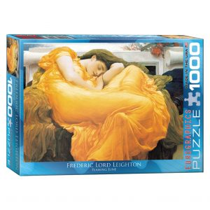 173 – 1000pce Puzzles 6000-3214 Flaming June