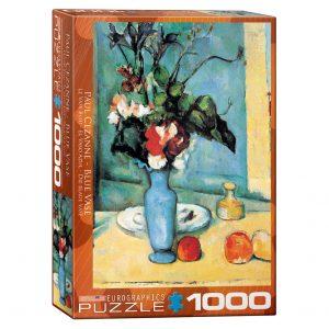 173 – 1000pce Puzzles 6000-3802 Blue Vase
