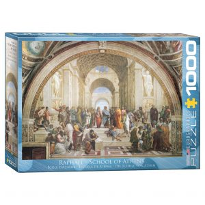 173 – 1000pce Puzzles 6000-4141 School Of Athens