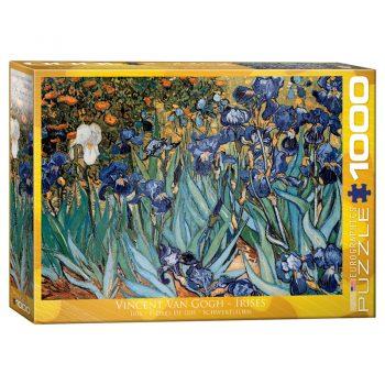 173 – 1000pce Puzzles 6000-4365 Irises