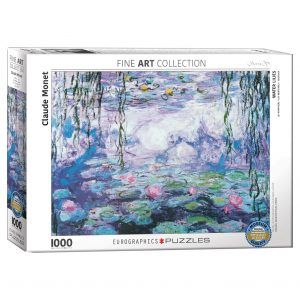 173 – 1000pce Puzzles 6000-4366 Waterlillies