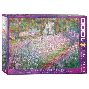 173 – 1000pce Puzzles 6000-4908 Monet's Garden