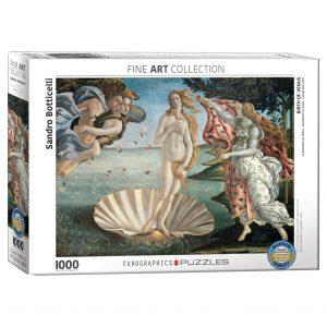 173 – 1000pce Puzzles 6000-5001 The Birth Of Venus