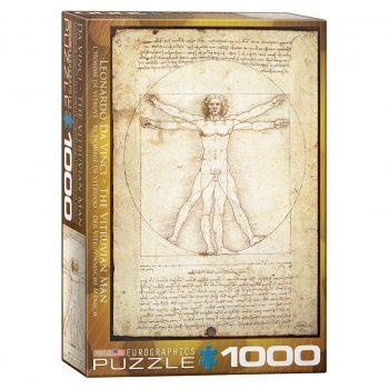 173 – 1000pce Puzzles 6000-5908 Vitruvius Man