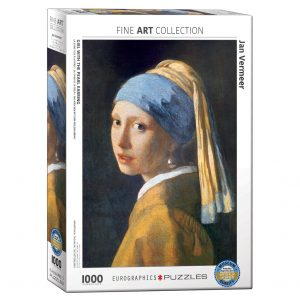 173 – 1000pce Puzzles 6000-5158 Girl With Pearl Earring