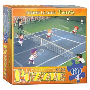 177a – 60pce Junior League Sports Puzzle (3 Des) 6060-0496 Tennis