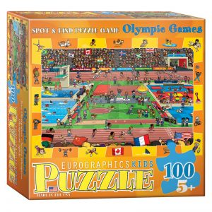 175a – 100pce Spot & Find Puzzle Game 6100-0497 Olympics