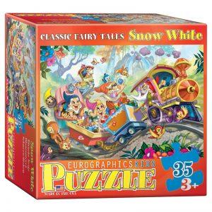 176 – 35pce Classic Fairy Tales Puzzle (6 Des) 6035-0422 Snow White