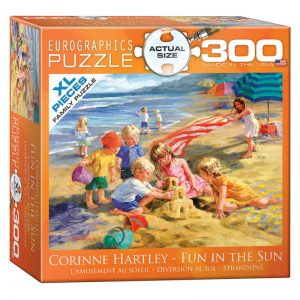 172 – 300pce Oversized Family Puzzles 8300-0449 Fun In The Sun