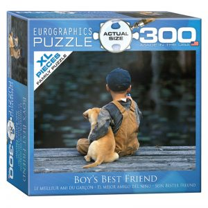 172 – 300pce Oversized Family Puzzles 8300-0527 Boys Best Friend