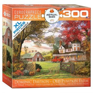 172 – 300pce Oversized Family Puzzles 8300-0694 Old Pumpkin Farm