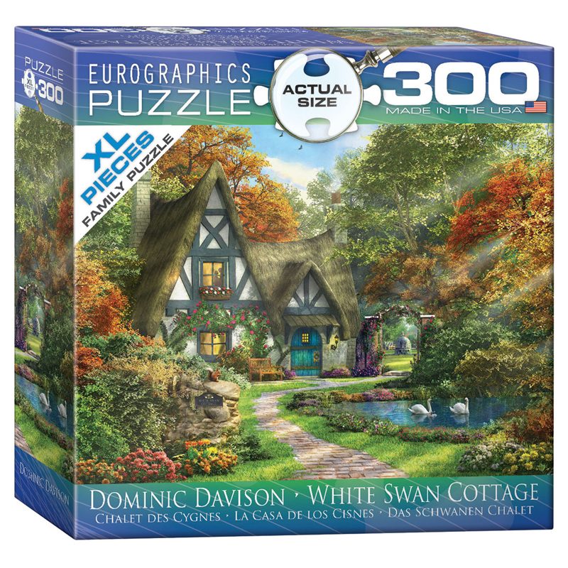 172 – 300pce Oversized Family Puzzles (16 Des) 8300-0977 Swans