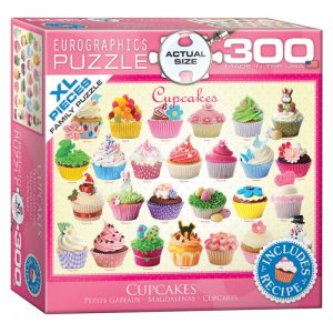 172 – 300pce Oversized Family Puzzles 8300-0519 Cupcakes