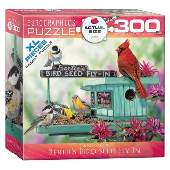 172 – 300pce Oversized Family Puzzles (16 Des) 8300-0604 Bertie's Bird See Fly In