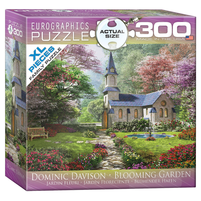 172 – 300pce Oversized Family Puzzles (16 Des) 8300-0964 Blooming Garden