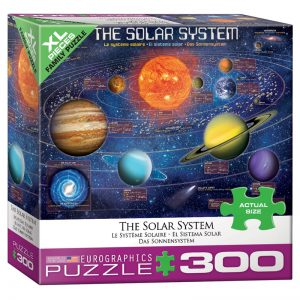 172 – 300pce Oversized Family Puzzles 8300-5369 The Solar System