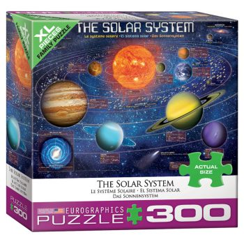 172 – 300pce Oversized Family Puzzles (16 Des) 8300-5369 The Solar System