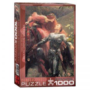 173 – 1000pce Puzzles 6000-0147 La Belle Dame Sans Merci
